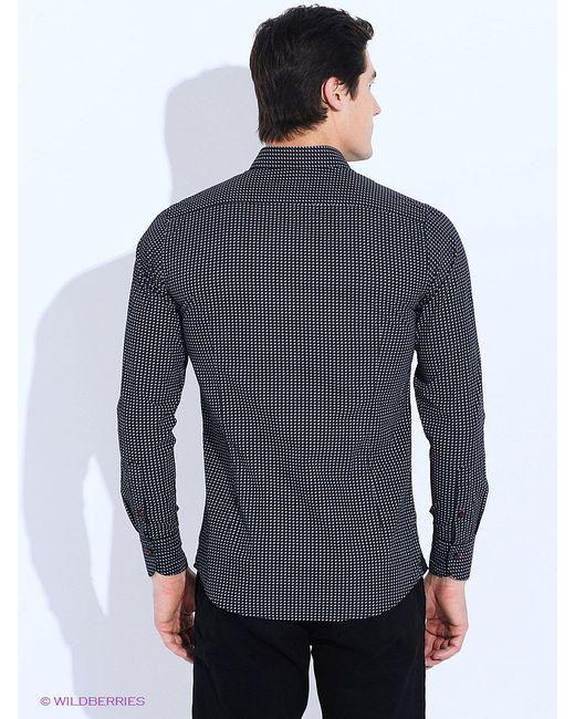 Рубашки Angelo Bonetti                                                                                                              чёрный цвет