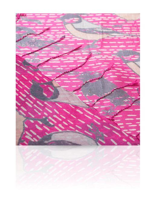 Палантины Michel Katana                                                                                                              фиолетовый цвет