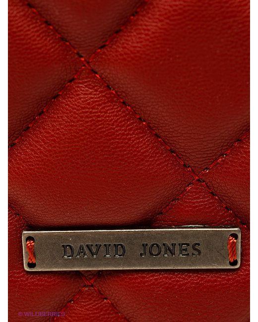 Сумки David Jones                                                                                                              красный цвет