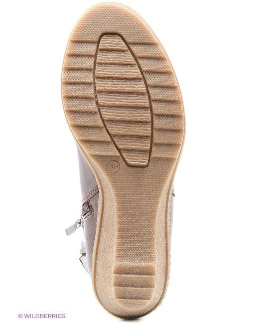 Полусапожки ЭГО                                                                                                              коричневый цвет