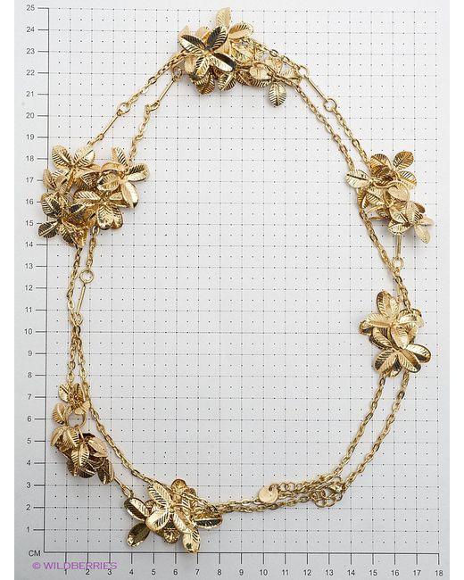 Цепочки Oodji                                                                                                              Золотистый цвет