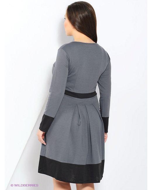 Платья MARI VERA                                                                                                              серый цвет