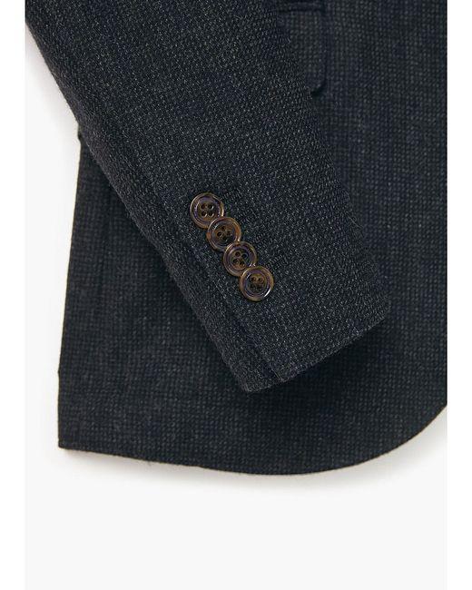 Пиджаки Mango Man                                                                                                              чёрный цвет