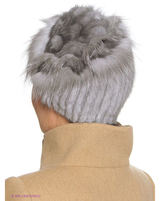 Шапки Ваша Шляпка                                                                                                              серый цвет