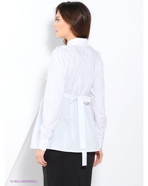 Блузки MammySize                                                                                                              белый цвет