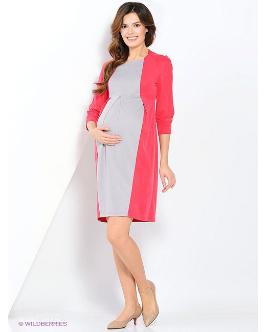 Платья One plus One                                                                                                              розовый цвет