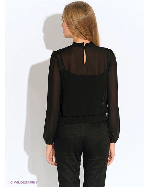 Блузки Oodji                                                                                                              чёрный цвет