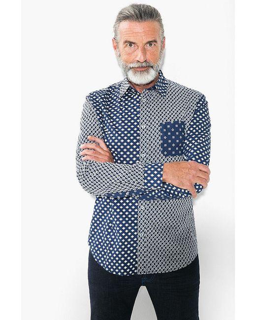 Рубашки Desigual                                                                                                              синий цвет