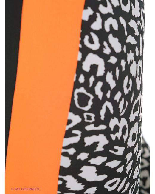 Леггинсы EMDI                                                                                                              оранжевый цвет