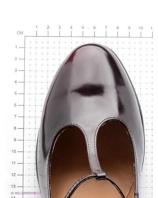Туфли JUST COUTURE                                                                                                              красный цвет