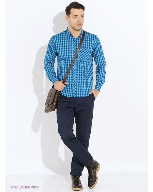 Рубашки Hazard                                                                                                              Бирюзовый цвет
