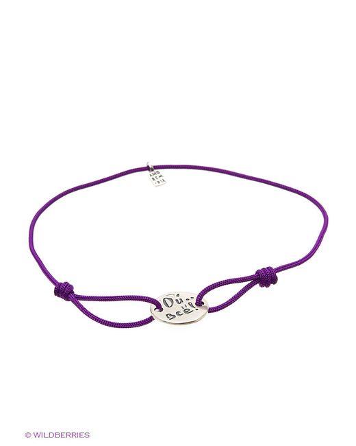 Ювелирные Браслеты Amorem                                                                                                              фиолетовый цвет