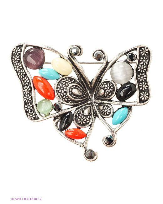Броши Lovely Jewelry                                                                                                              серебристый цвет