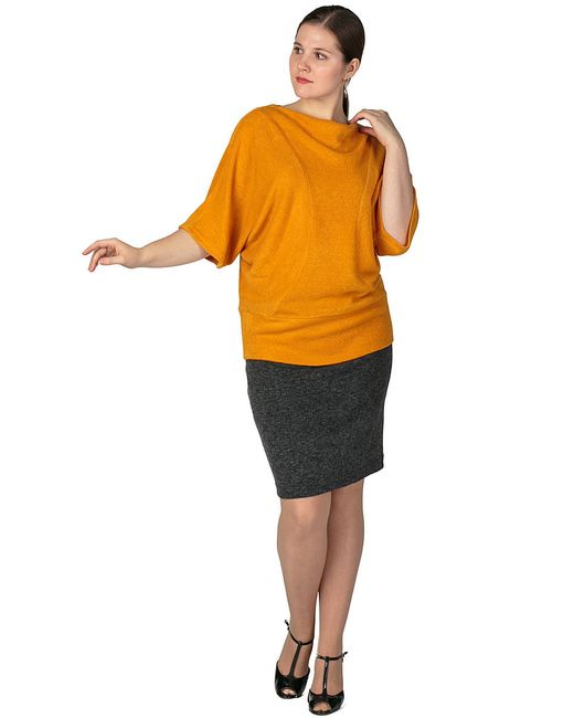Джемперы Regina Style                                                                                                              Горчичный цвет