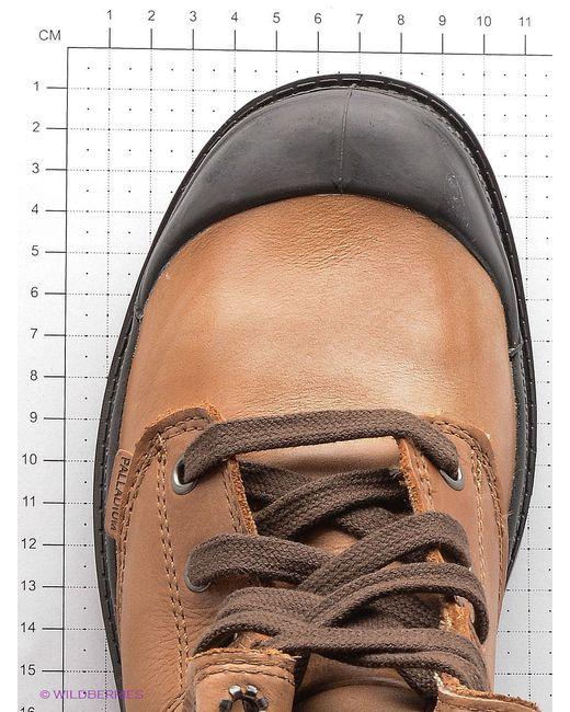 Ботинки Palladium                                                                                                              коричневый цвет