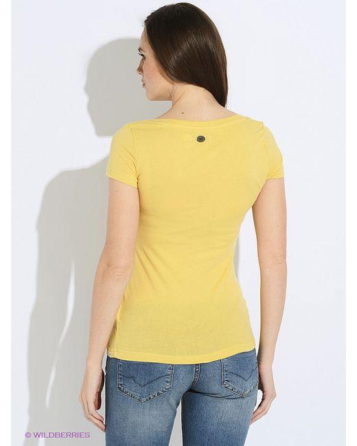 Футболки Caterpillar                                                                                                              желтый цвет