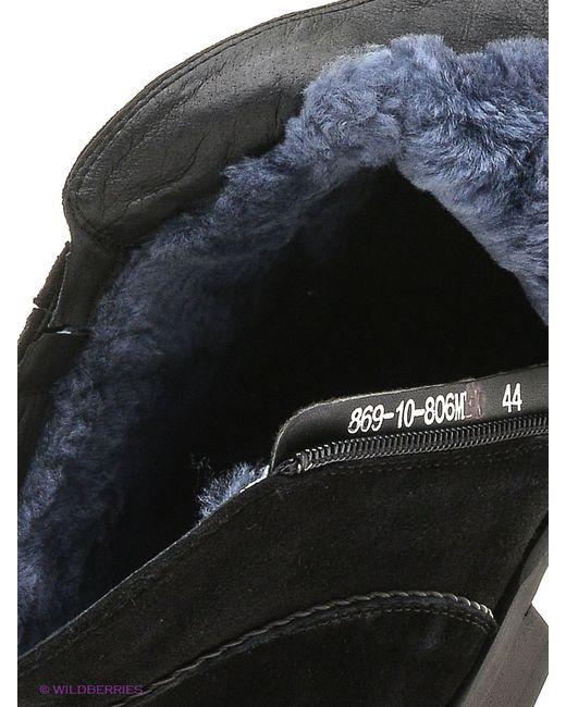 Ботинки Premier.                                                                                                              чёрный цвет