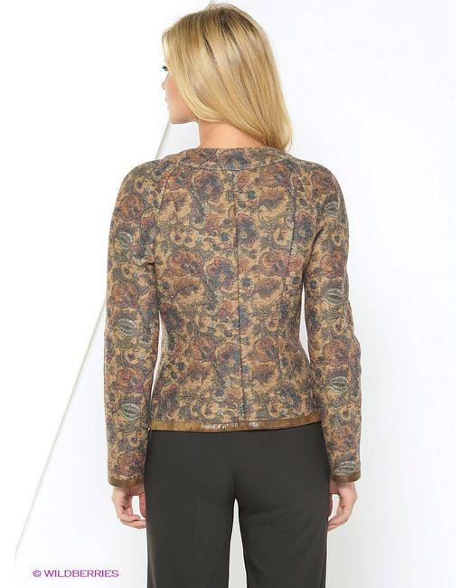 Куртки Elena Shipilova                                                                                                              коричневый цвет