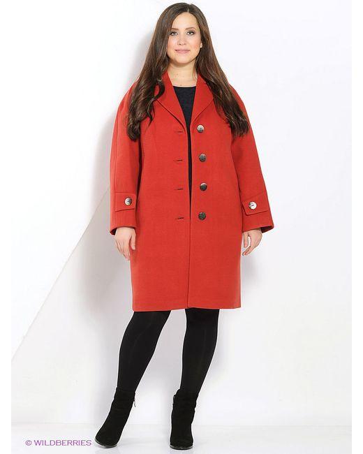Пальто FORTUNA                                                                                                              красный цвет