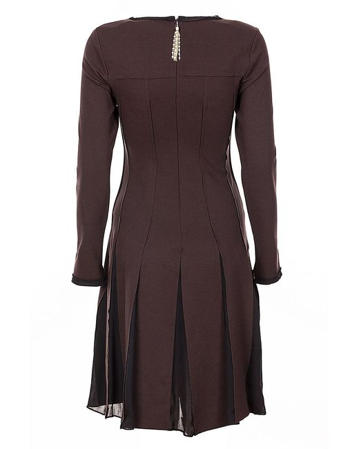 Платья Cristina Effe Cristinaeffe                                                                                                              коричневый цвет
