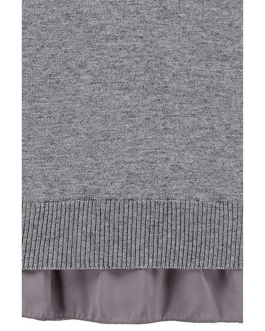 Джемперы Nuvola                                                                                                              серый цвет