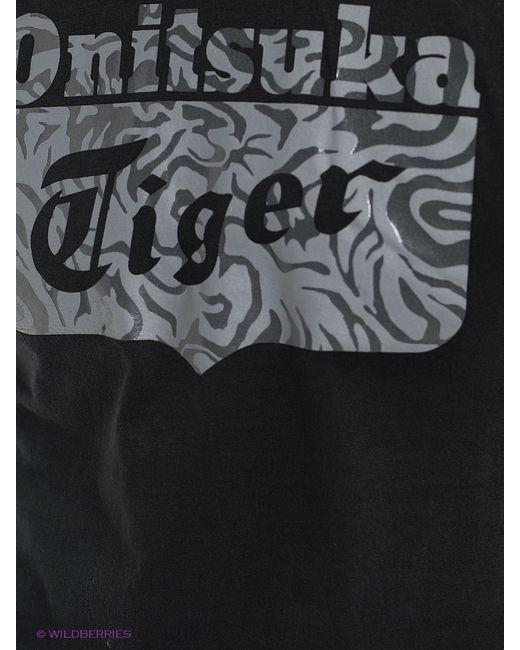 Футболка Onitsuka Tiger                                                                                                              чёрный цвет