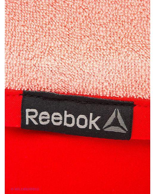 Напульсники Reebok                                                                                                              красный цвет