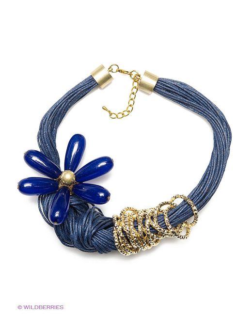 Колье Art Silver                                                                                                              синий цвет