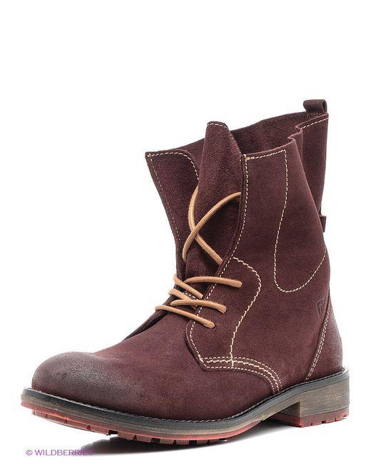 Ботинки Tamaris                                                                                                              красный цвет