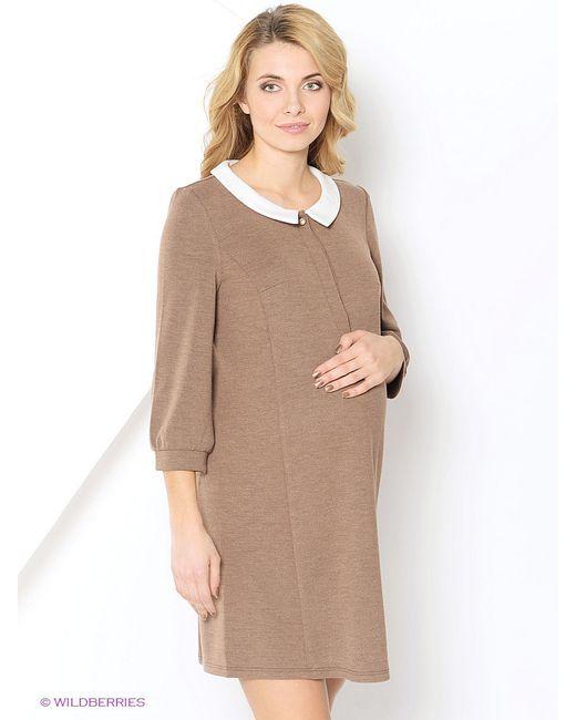 Платья MammySize                                                                                                              коричневый цвет