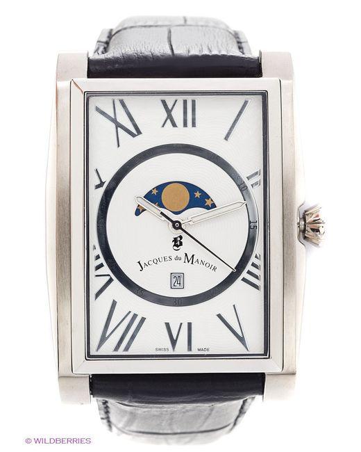 Часы Jacques du Manoir                                                                                                              серебристый цвет