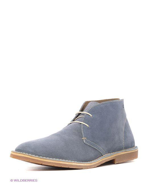 Ботинки Ecco                                                                                                              серый цвет