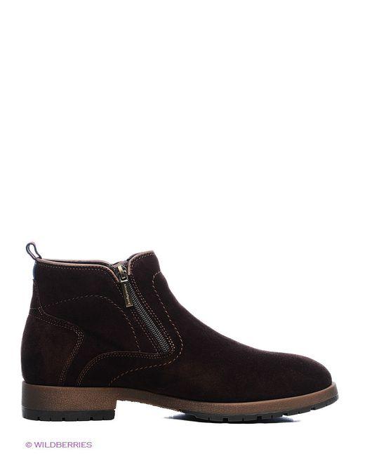 Ботинки Dino Ricci                                                                                                              коричневый цвет