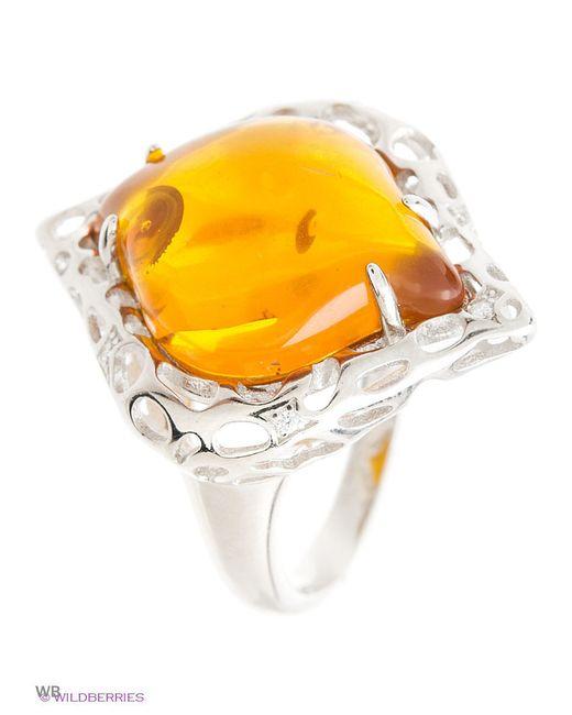 Ювелирные Кольца Silver Wings                                                                                                              оранжевый цвет