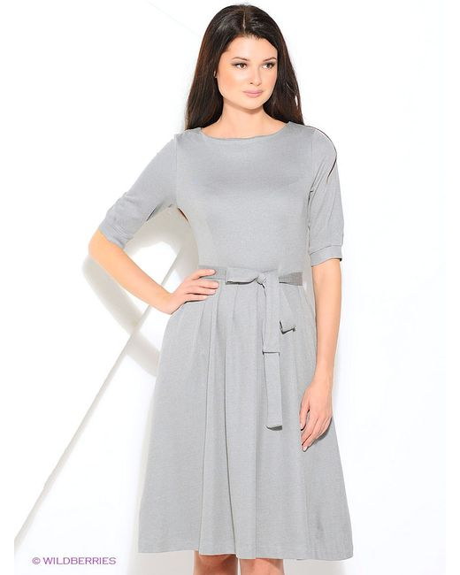 Платья Yulia Dushina                                                                                                              серый цвет