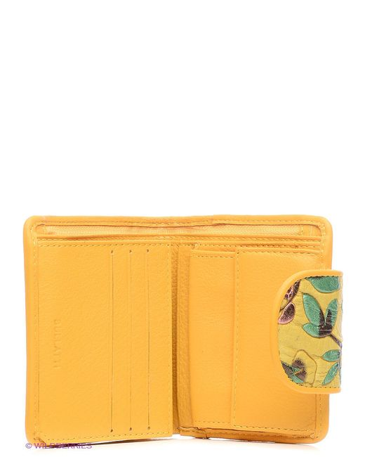 Кошельки Bullatti                                                                                                              желтый цвет