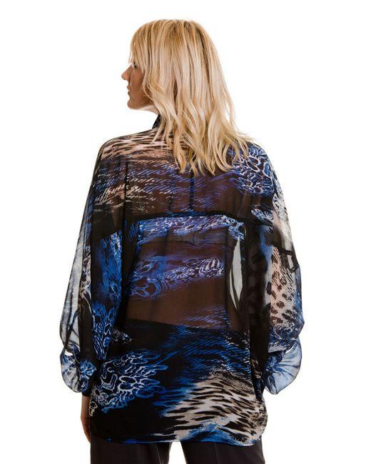 Блузки Levall                                                                                                              синий цвет