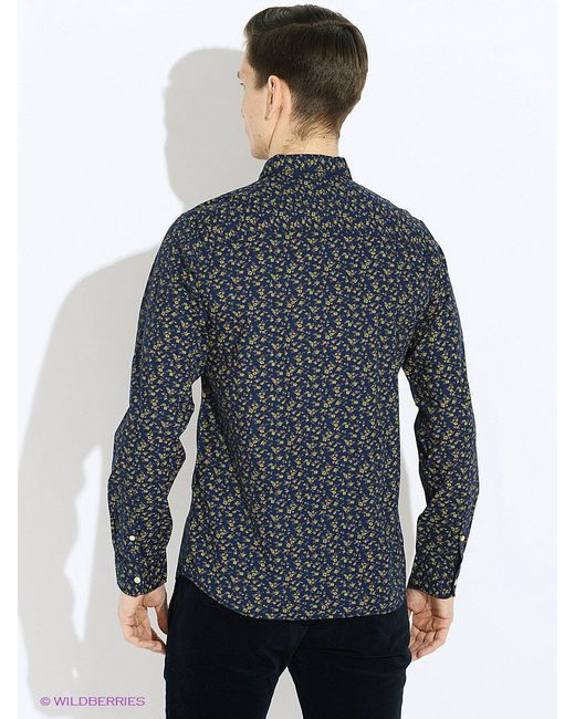 Рубашки Jackjones Jack & Jones                                                                                                              синий цвет