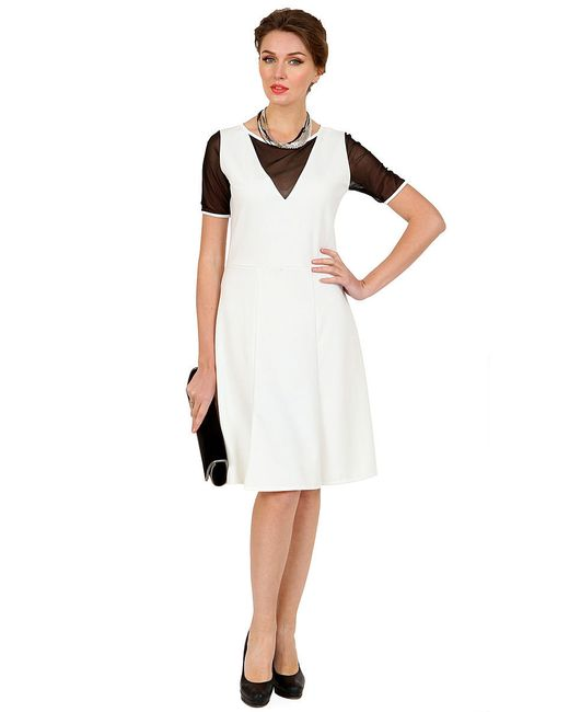 Платья MARI VERA                                                                                                              белый цвет