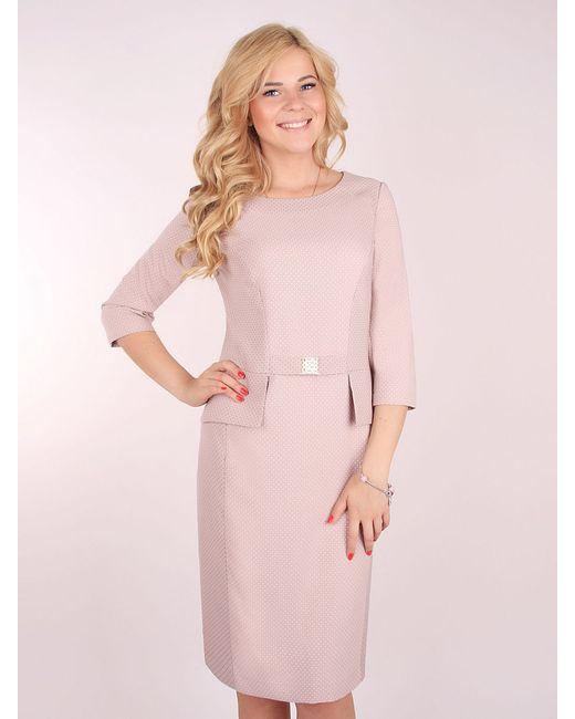 Платья ELNY                                                                                                              бежевый цвет