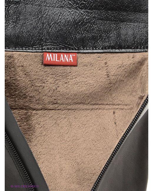 Ботфорты Milana                                                                                                              чёрный цвет