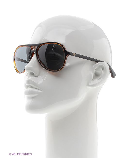Солнцезащитные Очки Emporio Armani                                                                                                              чёрный цвет