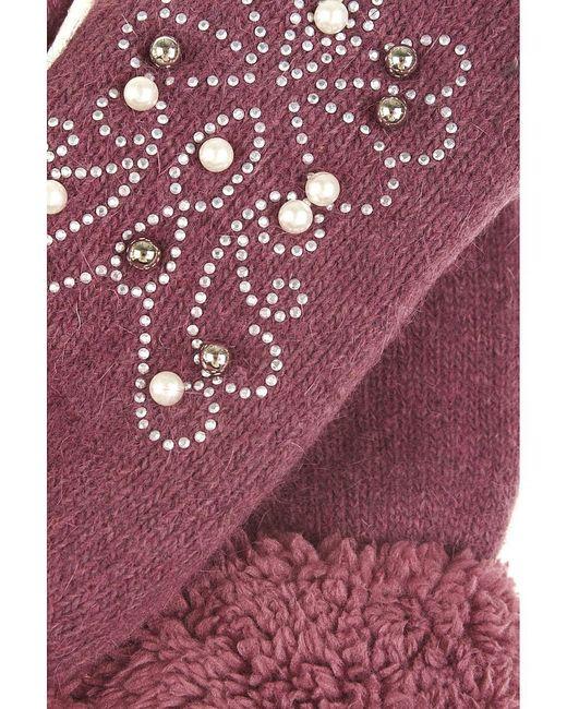 Варежки Migura                                                                                                              розовый цвет