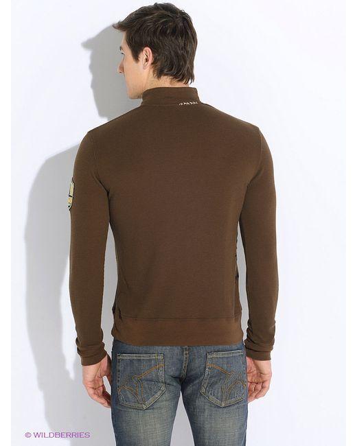 Поло Von Dutch                                                                                                              коричневый цвет