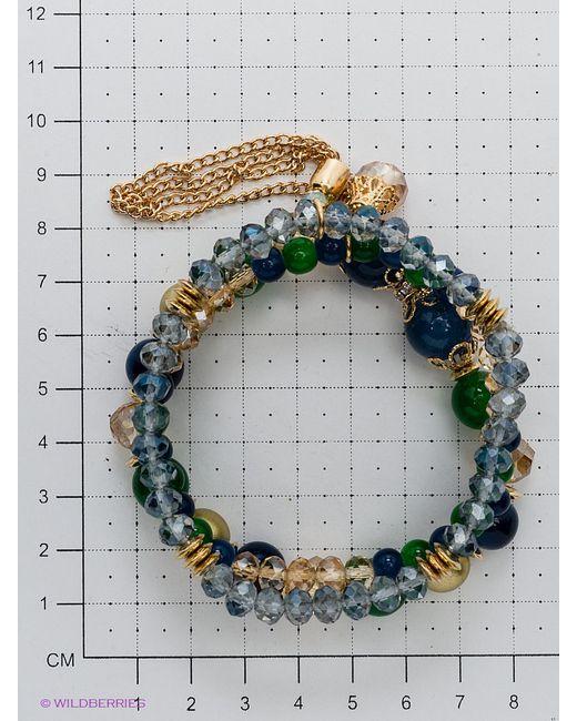 Браслеты Bijoux Land                                                                                                              синий цвет