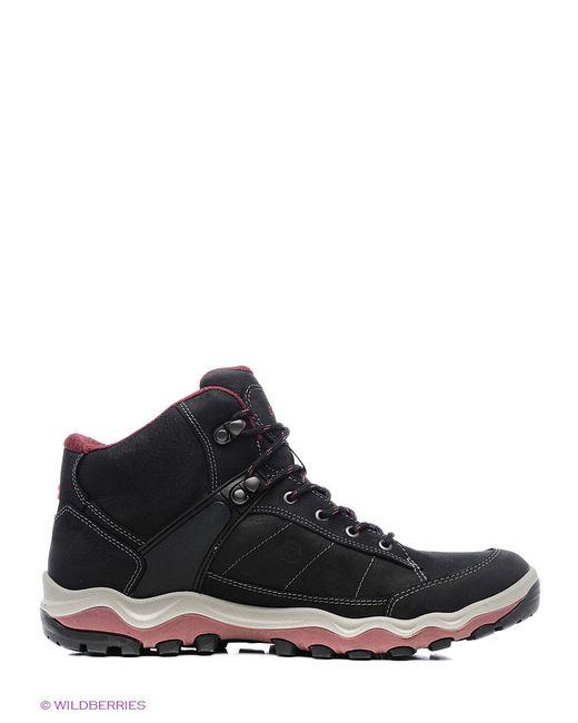 Ботинки Ecco                                                                                                              красный цвет