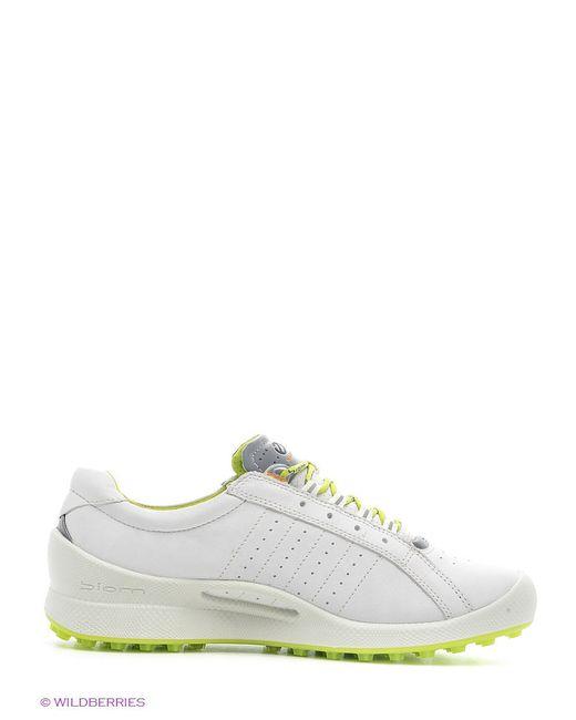 Ботинки Ecco                                                                                                              белый цвет