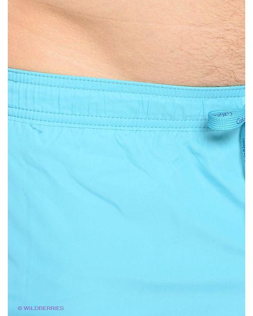 Плавки Calvin Klein                                                                                                              голубой цвет