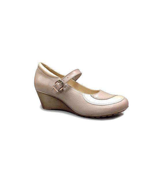 Туфли Ионесси                                                                                                              бежевый цвет