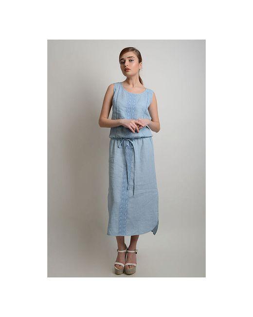 Платья LINO RUSSO                                                                                                              голубой цвет